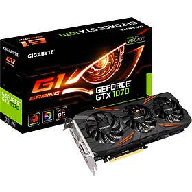 Gigabyte GeForce GTX 1070 G1 Gaming HDMI 3xDP 8GB