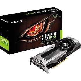 Gigabyte GeForce GTX 1070 Founders Edition HDMI 3xDP 8GB