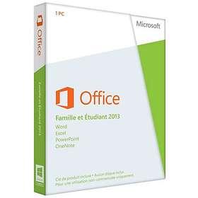 Microsoft Office Famille et Étudiant 2013 Fra (PKC)