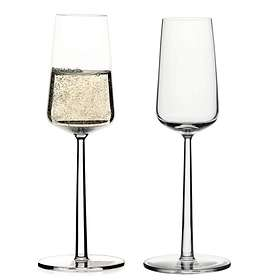 Iittala Essence Champagneglas 21cl 2-pack