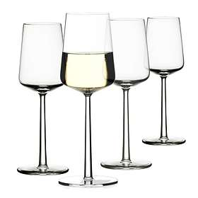 Iittala Essence Vitvinsglas 33cl 4-pack