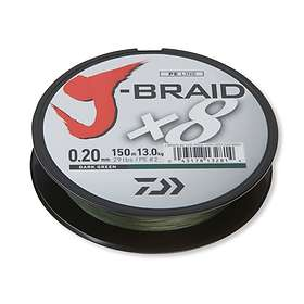 Daiwa J-Braid X8 0.13mm 150m