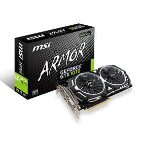 MSI GeForce GTX 1070 Armor OC HDMI 3xDP 8GB
