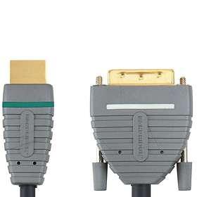 Bandridge Blue HDMI - DVI-D Dual Link 5m