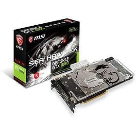 MSI GeForce GTX 1080 Sea Hawk EK X HDMI 3xDP 8GB