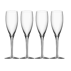 Orrefors More Champagneglas 18cl 4-pack