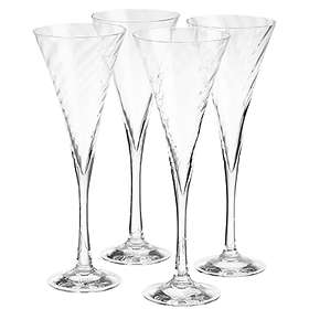 Orrefors Helena Champagneglas 25cl 4-pack