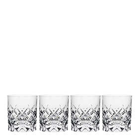 Orrefors Sofiero Old Fashioned Whiskyglass 25cl 4-pack
