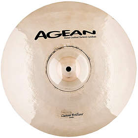 Agean Cymbals Custom Brilliant Light Ride 20""