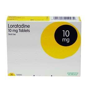 Teva Pharmaceuticals Loratadine 10mg 30 Tablets