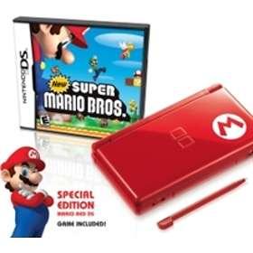 Nintendo DS Lite - Mario Special Edition