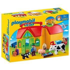 Playmobil 1.2.3 6962 My Take Along Farm