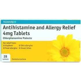 Numark Antihistamine Chlorphenamine 4mg 30 Tablets