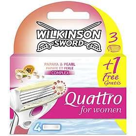 Wilkinson Sword Quattro for Women 4-pack
