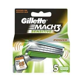 Gillette Mach3 Sensitive 5-pack