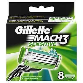 Gillette Mach3 Sensitive 8-pack