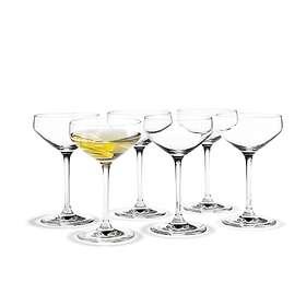 Holmegaard Perfection Martiniglas 29cl 6-pack