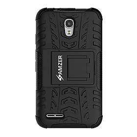 separation shoes fee91 f0c1a Amzer Hybrid Warrior Case for Alcatel OneTouch Pixi 4