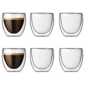 Bodum Pavina Espresso Dricksglas (71mm) 8cl 6-pack