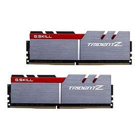 G.Skill Trident Z Silver/Red DDR4 3600MHz 2x8GB (F4-3600C15D-16GTZ)