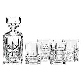 Nachtmann Highland Decanter 75cl Med 4 Whiskyglas 34,5cl