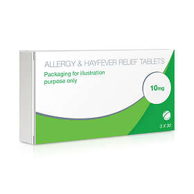 Chemist Direct Allergy & Hayfever Relief Cetirizine 90 Tablets