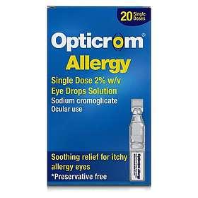 Sanofi-Aventis Opticrom Eye Drops Singel Dose 20pcs