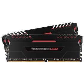 Corsair Vengeance Red LED DDR4 2666MHz 2x8GB (CMU16GX4M2A2666C16R)