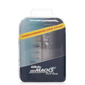 Gillette Mach3 Turbo (+4 Extra Blad)