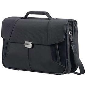 "Samsonite XBR Laptop Briefcase 3 Gussets 15.6"""