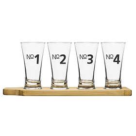 Sagaform Bar Ølprøveglass 15cl 4-pack