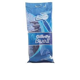 Gillette Blue II Chromium Disposable Pack de 5