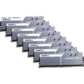 G.Skill Trident Z Silver/White DDR4 3200MHz 8x16GB (F4-3200C16Q2-128GTZSW)