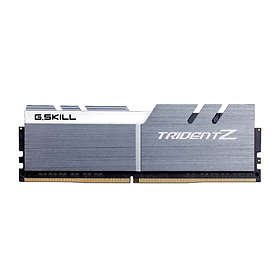 G.Skill Trident Z Silver/White DDR4 3200MHz 4x8GB (F4-3200C14Q-32GTZSW)