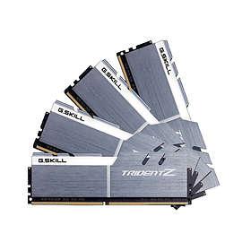 G.Skill Trident Z Silver/White DDR4 3200MHz 4x8GB (F4-3200C15Q-32GTZSW)