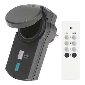Telldus IP44 Outlet + Remote (312404)
