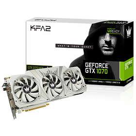 Galax/KFA2 GeForce GTX 1070 HOF HDMI 3xDP 8Go
