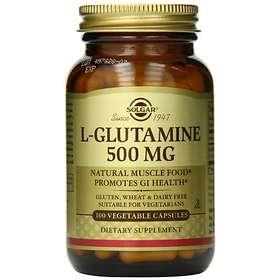 Solgar L-Glutamine 500mg 100 Kapslar