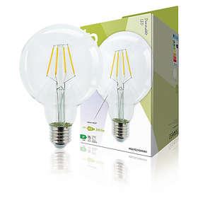 HQ LED Retro G95 345lm 2700K E27 4W (Dimbar)