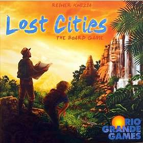 Rio Grande Games Lost Cities Board Game