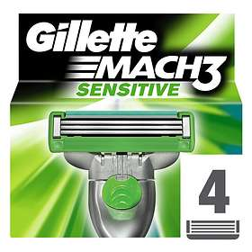 Gillette Mach3 Sensitive 4-pack