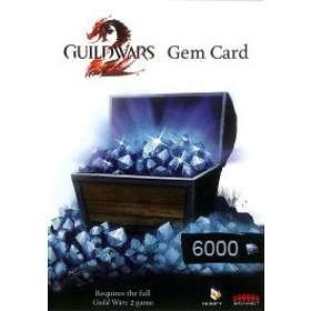 Guild Wars 2 Gem Card - 6000 Points