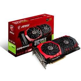 MSI GeForce GTX 1060 Gaming X HDMI 3xDP 6Go