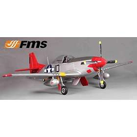 FMS P-51D Red Tail (V8) 1450mm PNP