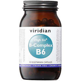Viridian High Six Vitamin B6 with B-Complex 90 Kapslar