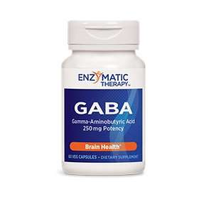 Enzymatic Therapy GABA 60 Capsules