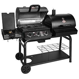 Char Griller Duo Gas and Charcoal Barbecue with Side Burner