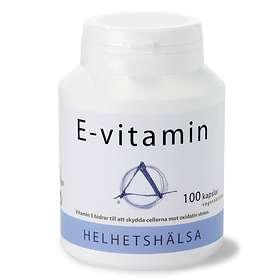 Helhetshälsa E-vitamin 100 Kapslar