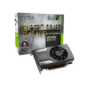 EVGA GeForce GTX 1060 SC Gaming HDMI 3xDP 6GB
