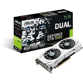 Asus GeForce GTX 1060 Dual 2xHDMI 2xDP 6GB
